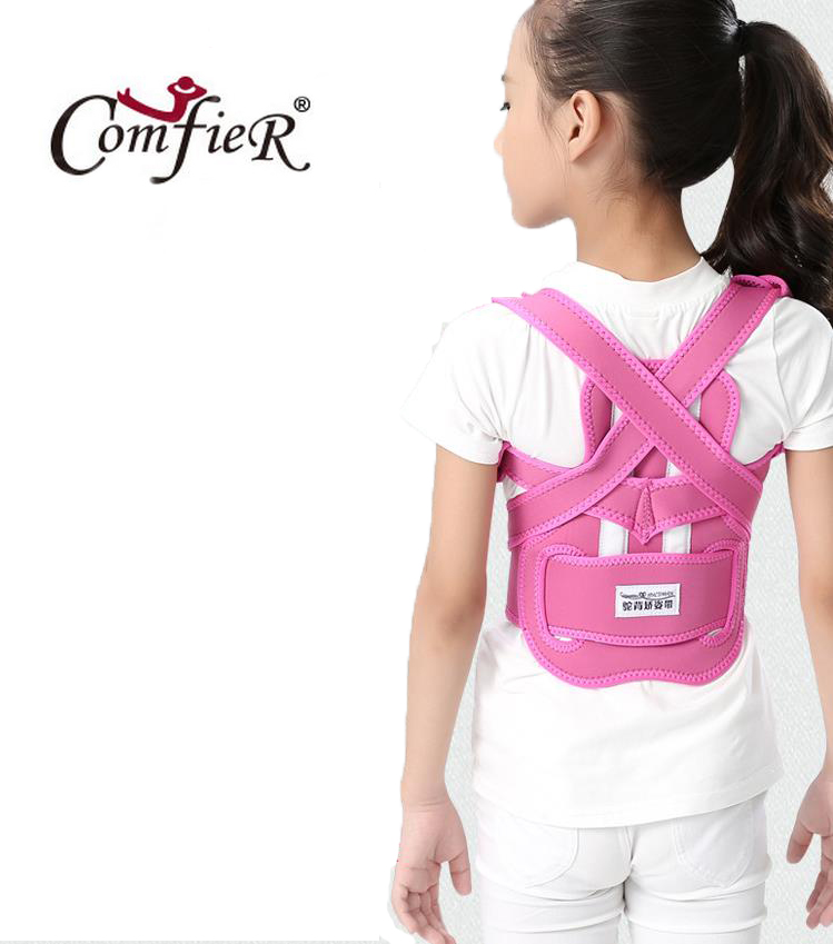ФОТО Children's children kyphosis correction with sitting posture orthotics JiaoZi take correct male and female students back