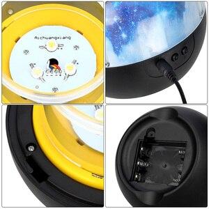 Image 5 - 5 セット映画スタームーンナイトライト星空プロジェクターランプ LED Luminaria コスモス宇宙海の誕生日常夜灯のためギフト