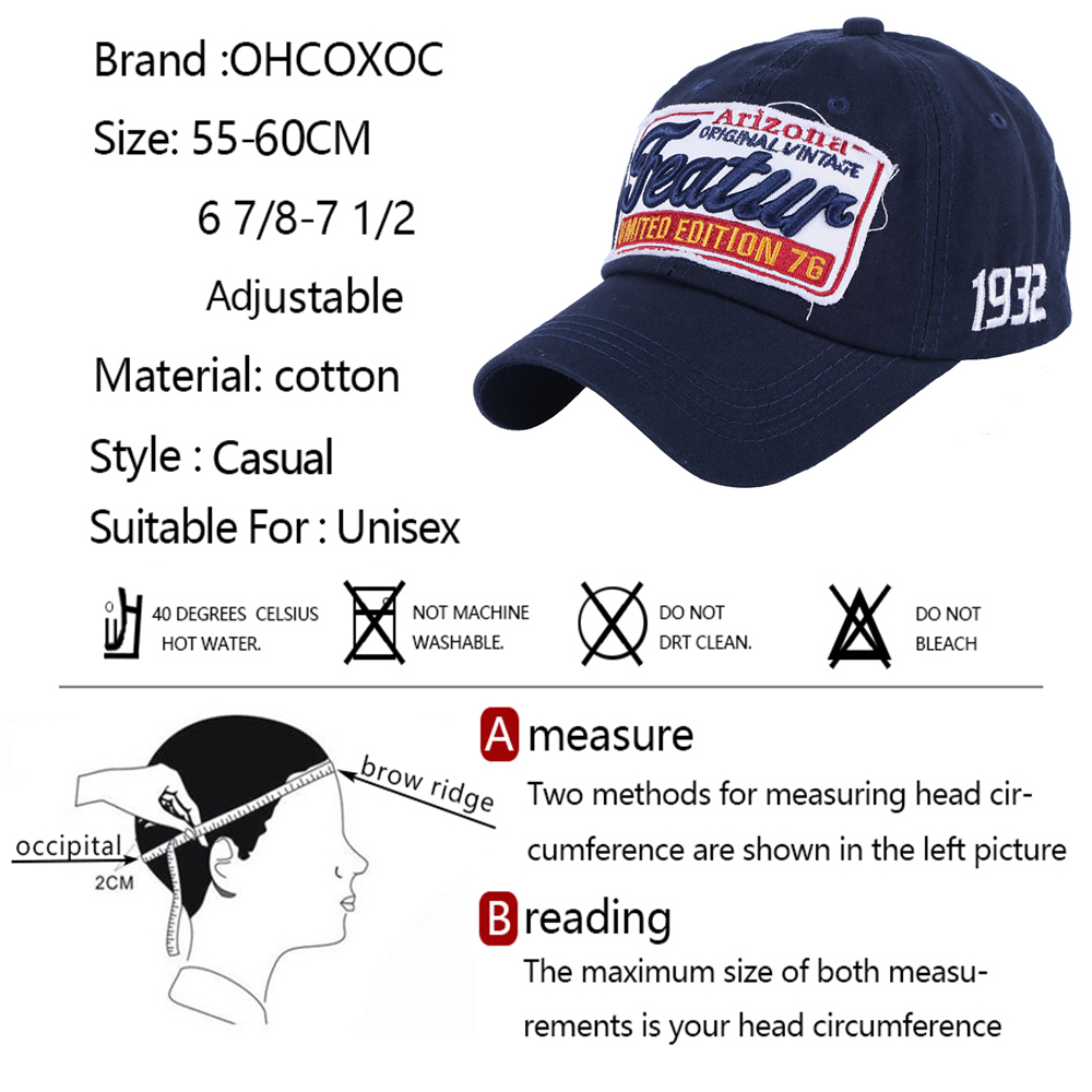 fashion cap hats cotton women men fashion baseball cap hat designer letter  embroidery solid white black navy sport caps hats