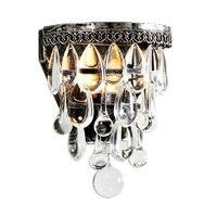 E14 Luz de cristal lâmpada de Parede Lâmpada de Parede de Cristal de Luxo Do Vintage luzes De Parede Arandela Luminárias de LED Barra de Luz Flexível