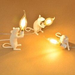 Postmodernistyczny pomysł udekoruj śliczną lampkę nocną LED lampka nocna/lampka nocna/mysz dekoracyjna lampka stołowa