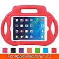Радио Стиль Падение Защиты ЕВА Дети Прочный Противоударный Дети Атака Case Крышка Ручка для Apple iPad Mini 1 2 3 7.9''