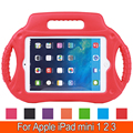 Radio Style Drop Protection EVA Children Durable Shockproof Kids Friendly Case Cover Handle for Apple iPad Mini 1 2 3 7.9''