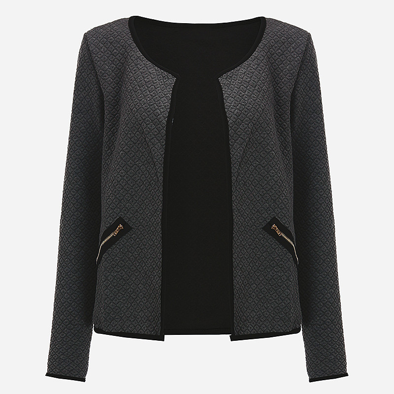 Big Yard Autumn Plaid Women Thin Coats Short Jacket Casual Slim Long Sleeve Blazers Cardigans 2018 Fashion Female Outwear Suits 1
