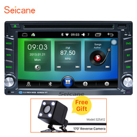 Android 2 Din Car DVD Player GPS Navigation System Universal Support Bluetooth WIFI OBD 1080P Video