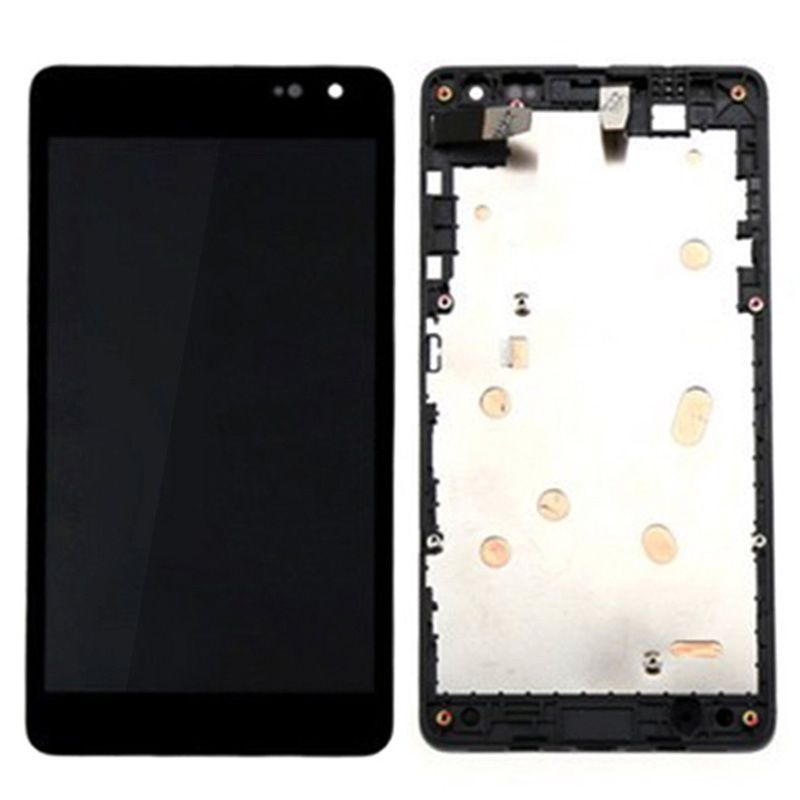 Assembly For Microsoft Lumia 535 2S Black LCD Display Touch Screen Digitizer Assembly Frame in stock