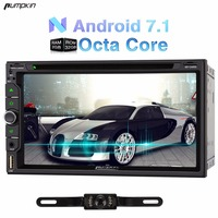 Pumpkin 6.95 Inch 2 Din Android 7.1 Universal Car DVD Player Quad-core GPS Navigation Car Stereo Bluetooth Wifi FM Map Radio