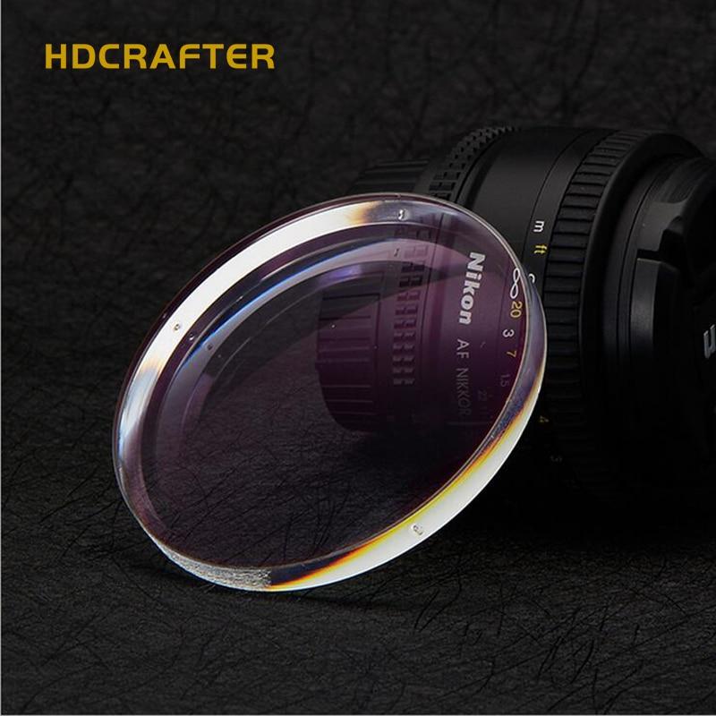 HDCRAFTER 1.74 lentille de myopie asphérique verres transparents en résine optique