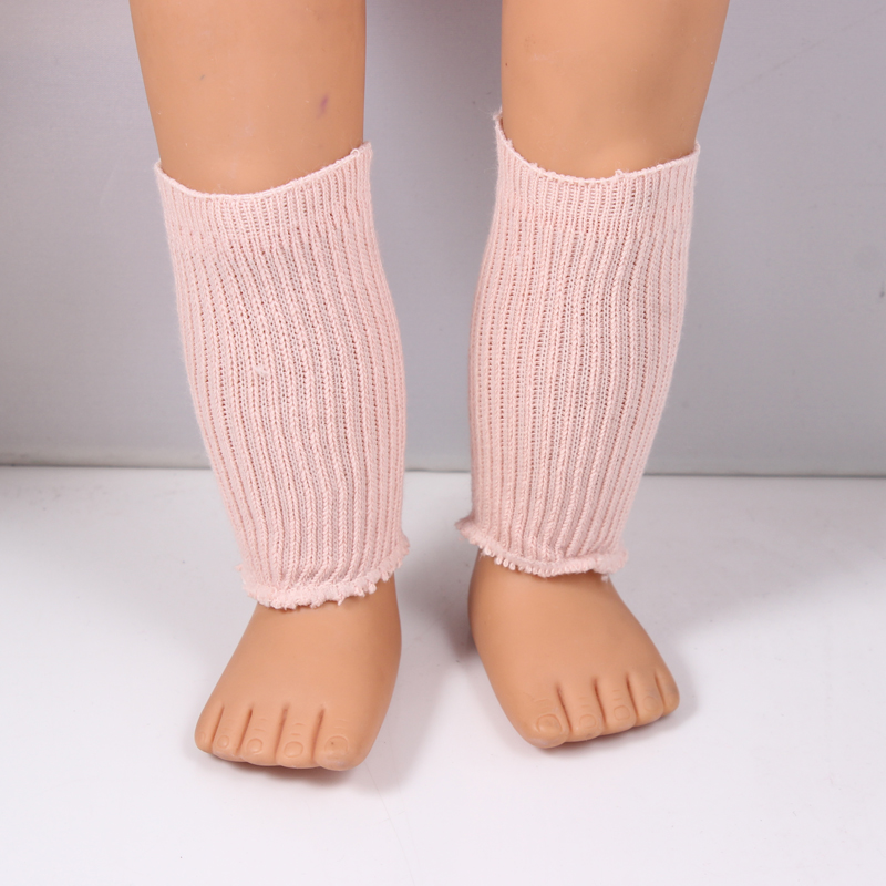 Free Shipping Hot 2017 New Style Pink 18 Dress American Girl Doll Socks DS32