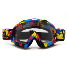 QL061B Motocross Goggles Cross Country Skis Snowboard ATV Mask Oculos Gafas Motocross Motorcycle Helmet MX Goggles Spectacles