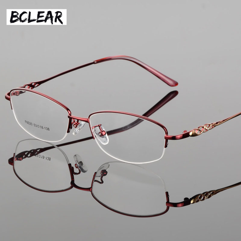 2f9beb7c8f8 BCLEAR New style women eyeglasses frame metal hollow legs optical frame  most popular hot selling S