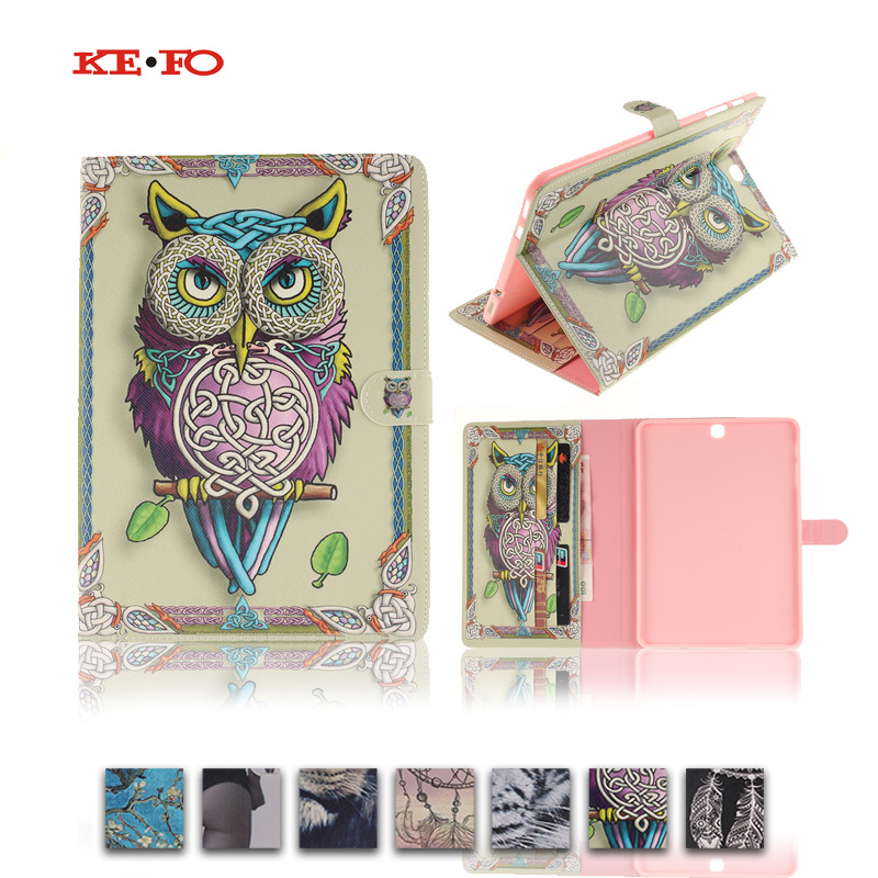 Colorful Magnetic PU Leather Case Coverfor Samsung Galaxy Tab S2 9.7 T815 T810 SM-T815 Tablet Stand with Card Holder Y4D33D colorful magnetic pu leather case cover for samsung galaxy tab s2 8 0 sm t710 t715 tablet stand with card holder y4d33d