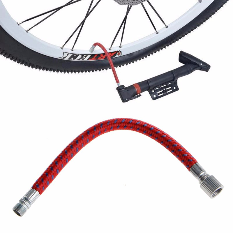 Discount Tire App >> Bike Inflate Pump Hose Adapter Bicycle Tyre Pump Hose Extension Extender Longer Hose Schrader ...