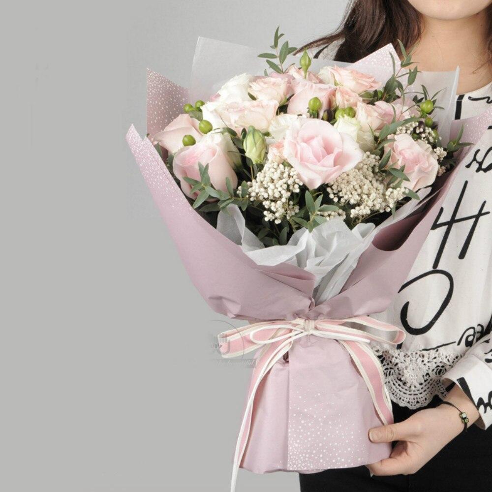 Aliexpress Buy Korean Flower Wrapping Paper Kraft Paper Gift