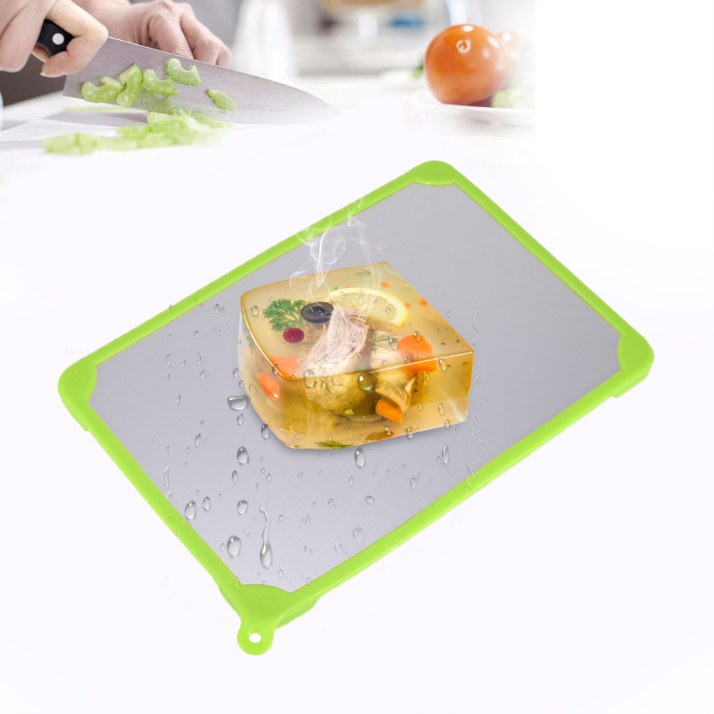 Automatic Thawing Plate Cutting Board Fast Frozen Food Meat Fish Food Miracle Defrosting ...