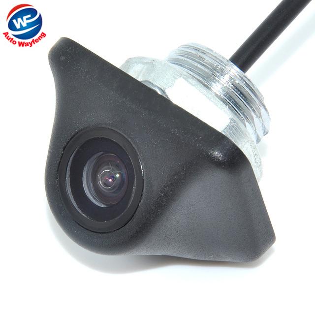Retrovisor do carro Câmera de Visão Traseira Frente Viewside Câmera Reversa Backup Color Camera 170 Ampla Visão Ângulo Noite