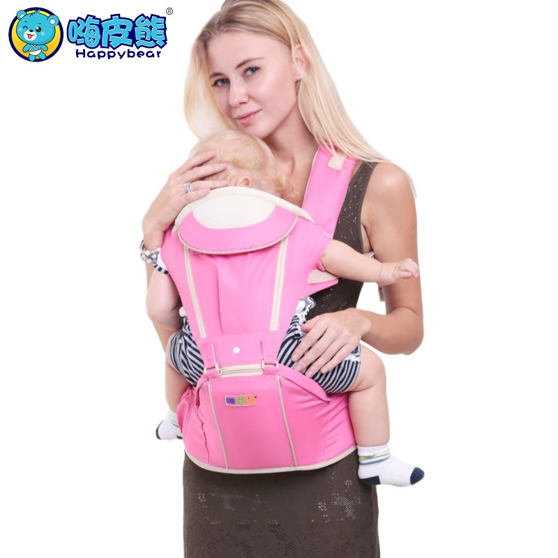 Baby carriers waist stool Manduca Newborn prevent o-type legs Multifunctional style Ergonomic baby carriers kids sling Happybear