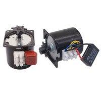 1 PCS 220V 또는 110V 회전 계란 모터 60KTYZ 클로 폴 영구 자석 동기 모터 치킨 인큐베이터 액세서리를 선택할 수 있습니다