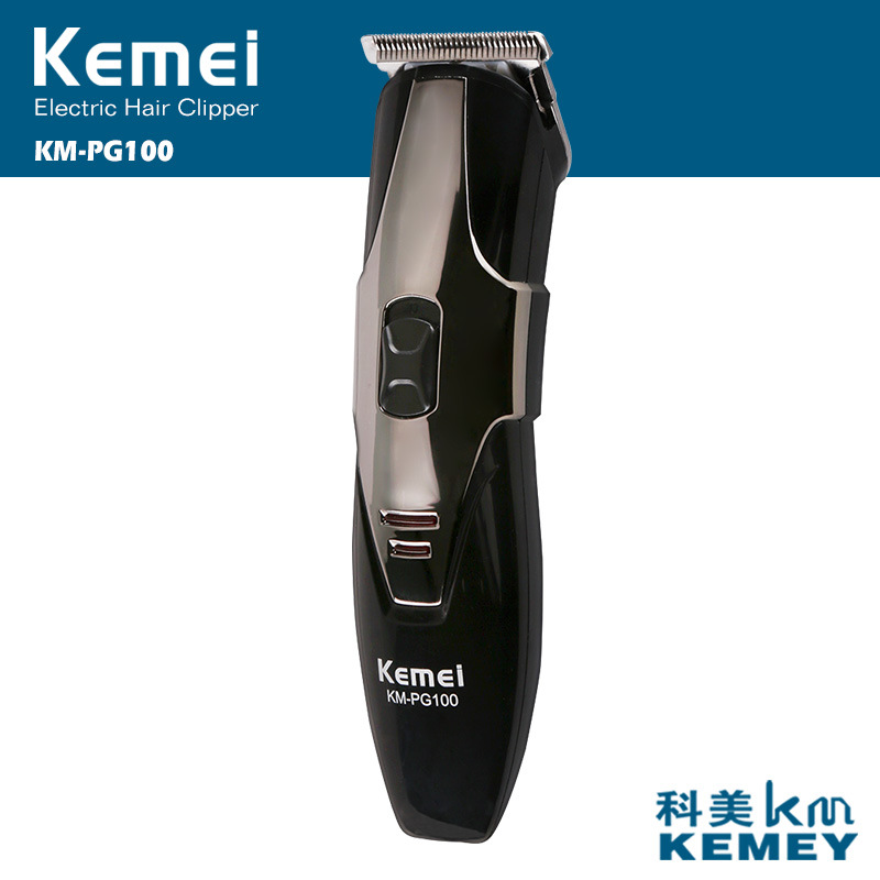 100V-240V kemei hair trimmer rechargeable clipper hair cutting beard shaving machine professional electric shaver razor barber kemei 220 240v electric hair cutting rechargeable hair trimmer men beard trimmer shave razor haircut professional clipper kit