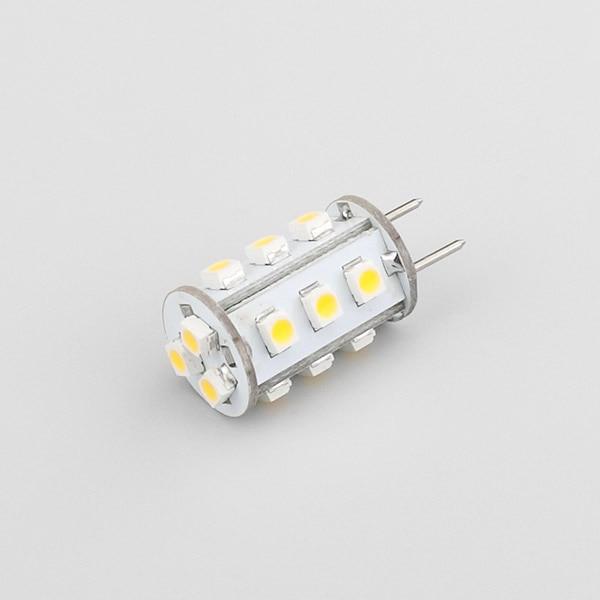 Купить с кэшбэком 12VDC GY6.35 LED G6.35 LIGHT LAMP LED BULB Y6.35 Lamp 1W 15led 3528SMD Commercial Engineering Indoor Professional 20PCS/LOT