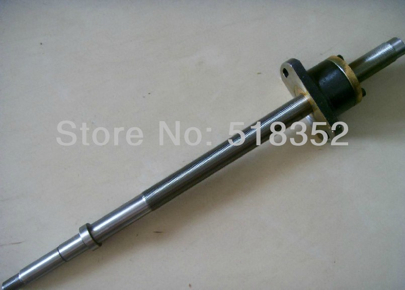 цены  L400mm Screw Rod with Feed Screw Nut  M18x 1mm Tooth Pitch Used for Changde Wire EDM Machines, EDM Spare Parts