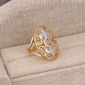 Xuping Fashion Ring Multicolor Gold Plated Synthetic CZ European Style Top Quality Brand Jewelery Gift  For Women S24-12308