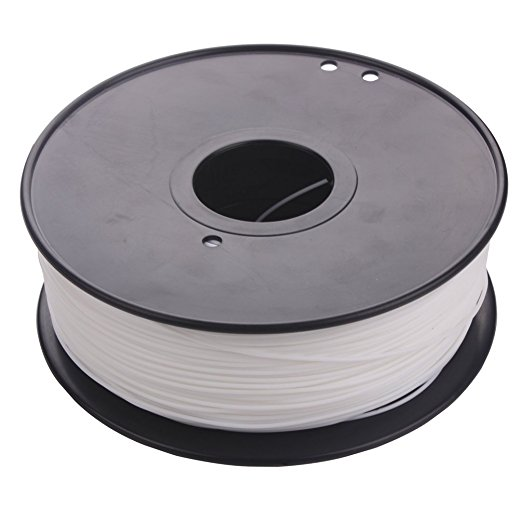 White color pla 1.75 3d printer filament USA natural 3d plastic filament China 3d pen pla filament 1.75mm 1kg impressora 3d pla 3d printer filament 1kg 2 2lb 3mm pla plastic for mendel white