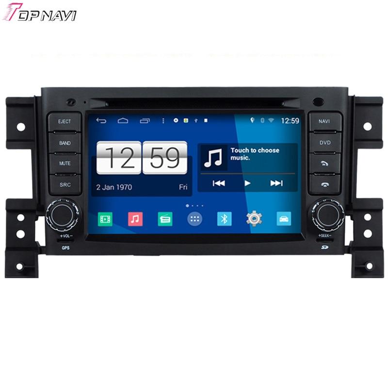 Free Shipping 7'' Quad Core S160 Android 4.4 Car DVD Multimedia GPS For Suzuki Vitara With Stereo Radio Mirror Link 16Gb Flash