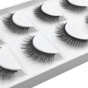 Strip Eyelashes Product Curling Fluffy Party Nature Fashion Clios Luxury Long 5pair Girl