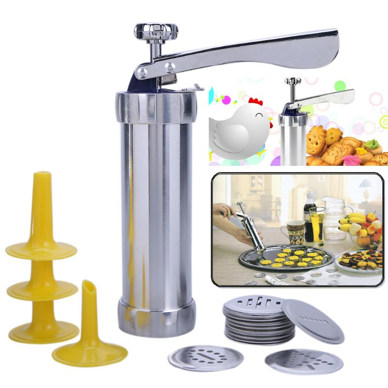 Cookie Presse Kit Küche Cookie Keks Maschine Machen Kuchen Dekorieren Tools Cookie Pressen Gefrier Nozzle Gebäckhersteller