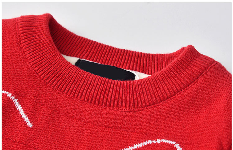 3020cee464e8 ARISONBELAE Double Thickening New Year s Sweater for Girls and Boys ...