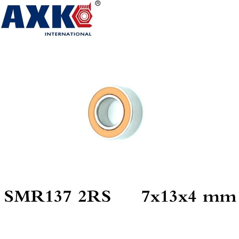 Axk 10pcs Fishing Reel Bearing Smr137-2rs Abec7 Stainless Steel Hybrid Ceramic Ball Bearings Smr137rs Smr137 2rs Cb 7x13x4 Mm axk free shipping 1pcs 6901 2rs hybrid ceramic si3n4 ball 61901 ceramic bearing 12 24 6mm 6901 2rs