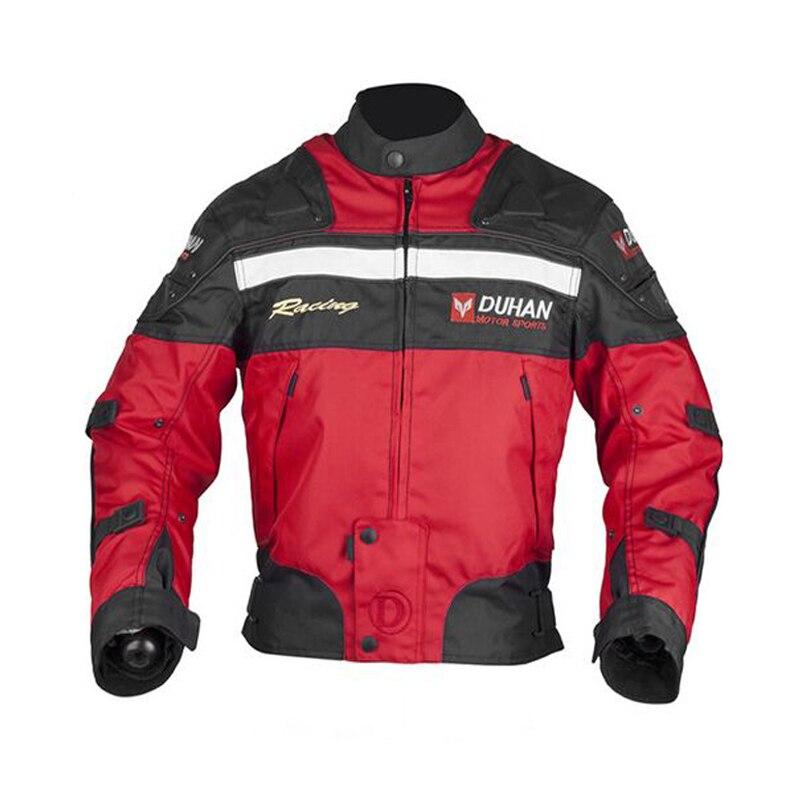 D020 Duhan motorcycle jacket Winter moto jacket protection 5 pcs Protective Gears 4 seasons capacete de