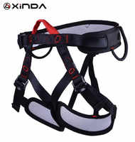 XINDA Camping Sicherheit Gürtel Geschirre Für Rock Climb Außen Erweitern Ausbildung Luft Halb Körper Schutzhülle Liefert Überleben