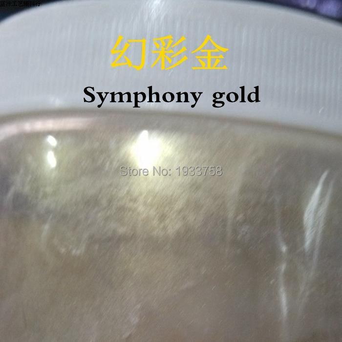 Nacreous Lidschatten Pulver Autolack Pulver Waren Jeder Beschreibung Sind VerfüGbar Frank Symphonie Serie Gold Farbe Natürliche Nagellack Pulver Seife Farbstoff Glimmer/perle Pulver