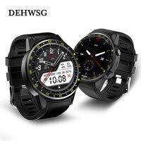 Смарт часы F1 1.3 ''GPS sim tf спортивные часы с мульти спорт набирает режим сердечного ритма сна Мониторы smartWatch для IOS Android MIMI
