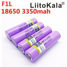 10 PCS/LOT Liitokala 18650 3350 mAh batterie Rechargeable Batterie INR18650 F1L 3400