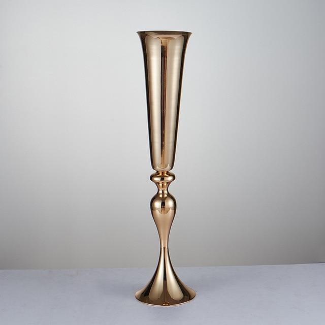 Wholesale 10 Pieces 28 Inch 35inch Gold Mermaid Trumpet Wedding