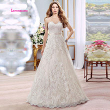 LEIYINXIANG 2019 Wedding Dress Bride Gown A-Line Backless