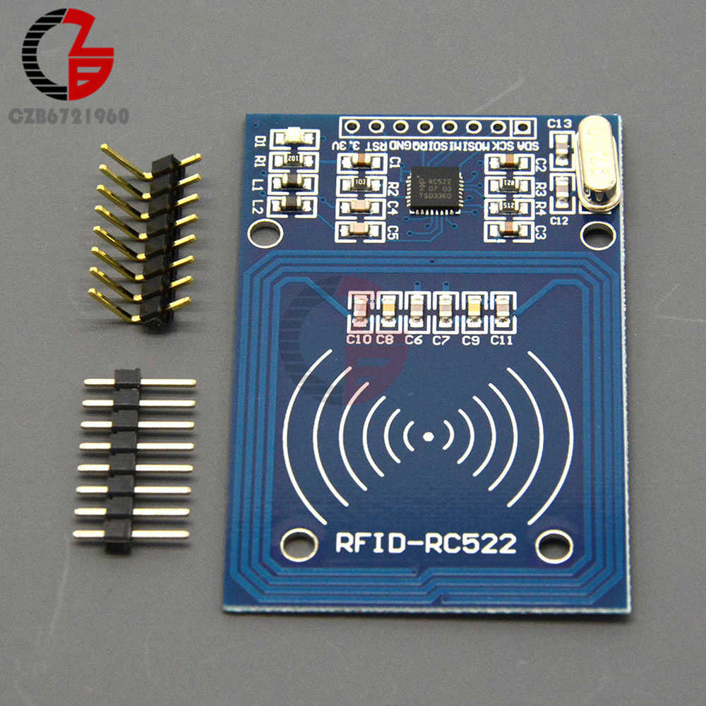 RFID Module RC522 Kits S50 13 56 MHz 6CM SPI Write and Read for Arduino UNO  2560 without Tag
