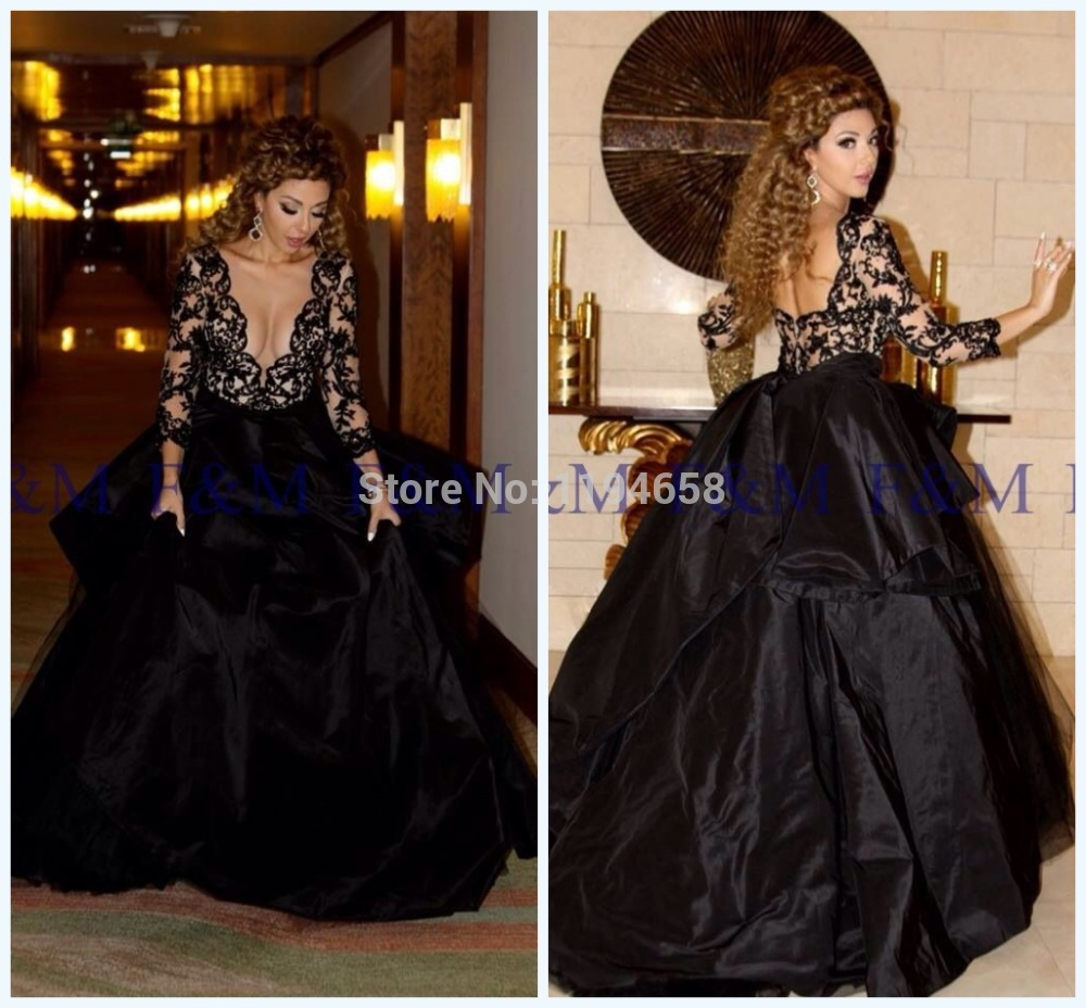 Compare Prices on Black Ball Gown Long Sleeve- Online Shopping/Buy ...