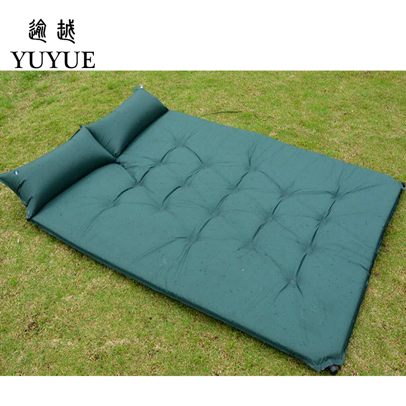 5cm Thick Double Resident Mattress For 2 Person Outdoor Camping Tent Air Bedding For The Air Mat For Beach Colchoneta Camping 4