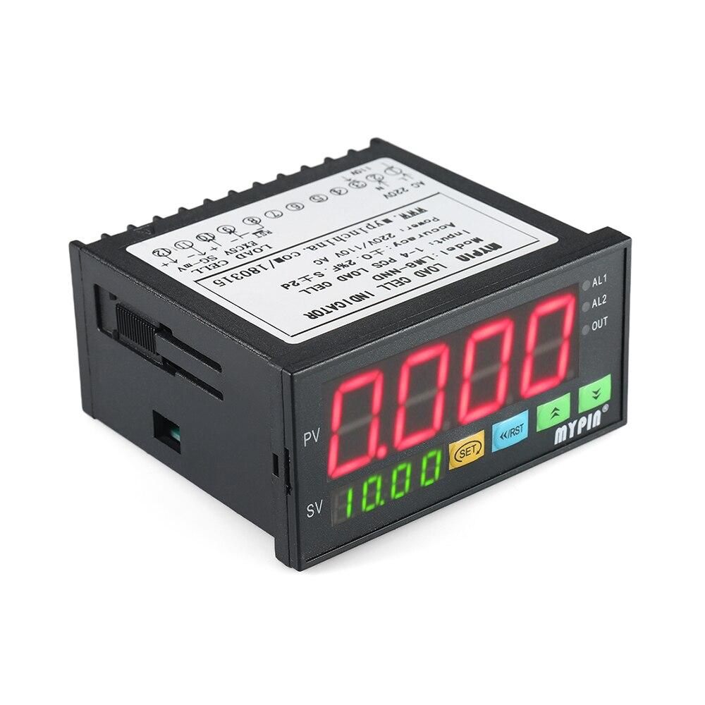 Digital LED Display Weighing Meter Load-cells Indicator 1~4 Load Cells Signals Input все цены