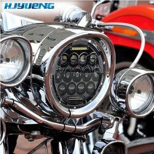 "Image 5 - HJYUENG For UAZ Hunter Suzuki Samurai LED Projector headlight 7"" LED headlamp Light Lamp 7inch For Lada 4x4 urban Niva"