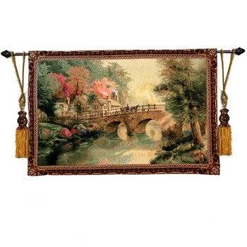 Fanreey Exquisite Belgium tapestry,Pastoral scenery,88X138cm, GT-GXQ0016