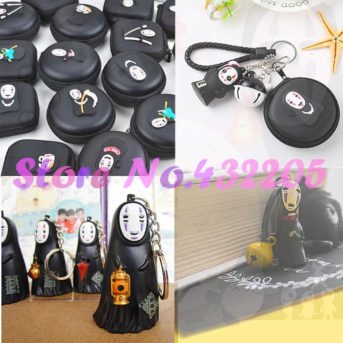 Spirited Away figurka bez twarzy człowiek Make-up pudełka torba figurka postaci długopisy żelowe Birthday Party Supplies dziecko Gril przyjaciel Gif
