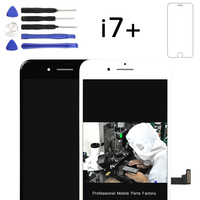 TOP quality lcd 1 pz 2016 Clone lcd 5.5 pollice per iphone 7 più screen display lcd con touch digitizer, freeshipping