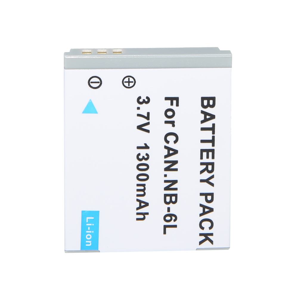 Hot 3.7V 1300mAh Battery NB-6L NB 6L 6LH NB6L Rechargeable Camera Battery For Canon IXUS SX270 SD4000 SD1200 SD1300 SX500