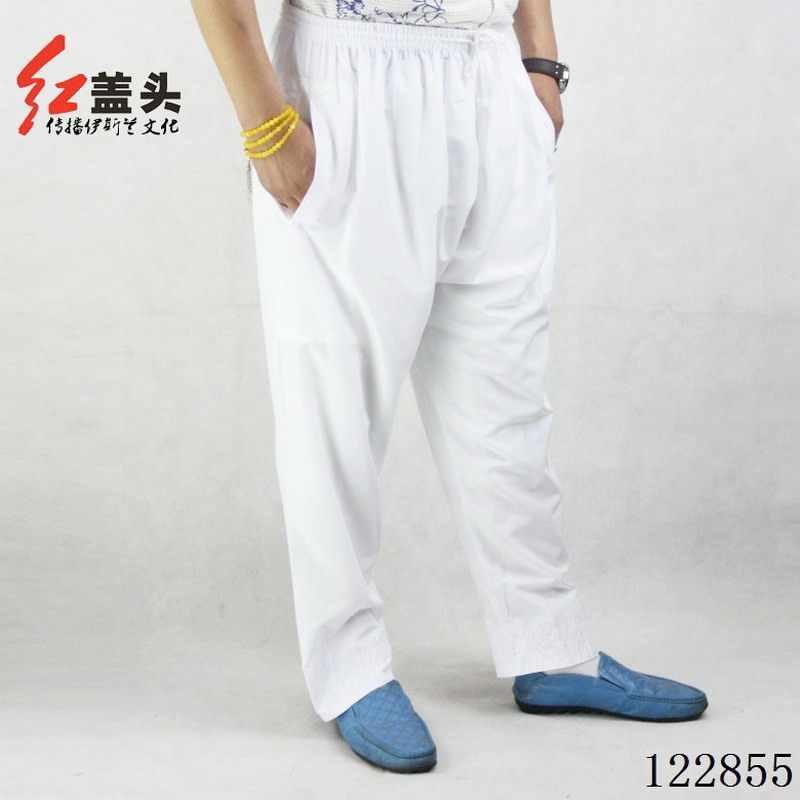 7 צבעים ערבי גברים חלוק מוסלמי גברים של מכנסיים פוליאסטר כותנה מוסלמי גברים thobes מוסלמי בגדים סיטונאי 170510