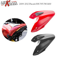 For Ducati Monster 696 795 796 1100 2009 2010 2011 2012 Motorcycle Rear Pillion Passenger Hard Seat Cowl Cover Section Fairing